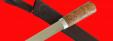 """Авторский нож """"Пареньский средний"""", клинок сталь 95Х18, рукоять стабилизированная карельская береза (цвет натуральный)"""