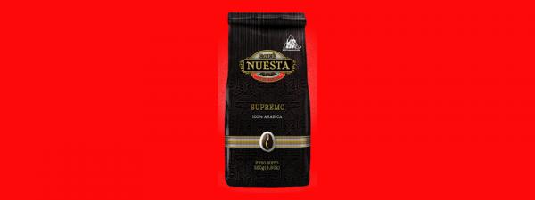 Кофе в зёрнах Nuesta Supremo Колумбия 250г