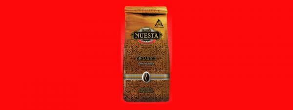 Кофе в зёрнах Nuesta Organico Колумбия 250г