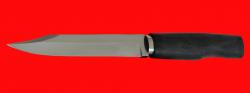 Реплика Нож разведчика-диверсанта, клинок сталь У8, рукоять морёный дуб