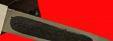 Якутский нож малый 003, ручная ковка, клинок сталь У8, заточка линза, рукоять венге, лосиный рог