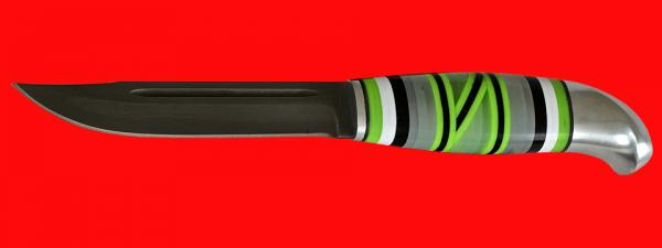 Жиганская финка Ира 005, клинок кованая сталь Х12МФ, рукоять наборный пластик