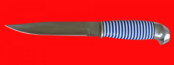 Финка 006, клинок кованый сталь 95Х18, рукоять наборный пластик
