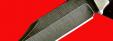 """Нож """"Оцелот"""", цельнометаллический, клинок дамасская сталь, рукоять венге"""