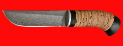 Охотничий нож Олень, клинок сталь Х12МФ, рукоять береста