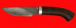 Охотничий нож Рысь-2, клинок сталь D2, рукоять венге