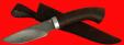 """Охотничий нож """"Рысь-2"""", клинок сталь D2, рукоять венге"""