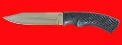 Нож Беркут-2, клинок сталь 95Х18, рукоять пластмасса (цвет черный)