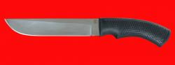 Нож Грибник-5, клинок сталь 95Х18, рукоять пластмасса (цвет черный)