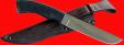 """Нож """"Грибник-5"""", клинок сталь 95Х18, рукоять пластмасса (цвет черный)"""