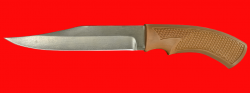 """Нож """"Беркут"""", клинок сталь Х12МФ, рукоять пластмасса (цвет коричневый)"""