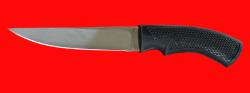 Нож Лис-2, клинок сталь 95Х18, рукоять пластмасса (цвет черный)