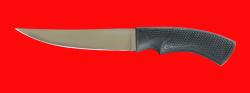 Нож Лис-2, клинок сталь 65Х13, рукоять пластмасса (цвет черный)