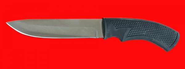 """Нож """"Русский охотничий-4"""", клинок сталь 65Х13, рукоять пластмасса (цвет черный)"""