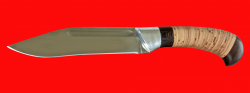 Нож Пиха-Каеттаа, клинок сталь 95Х18, рукоять береста
