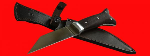 """Нож """"Скрамасакс-1"""", цельнометаллический, клинок сталь У8, рукоять венге"""