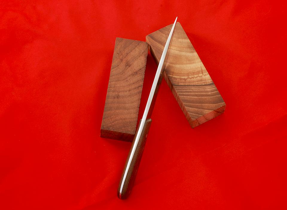 Нож из текстолита своими руками