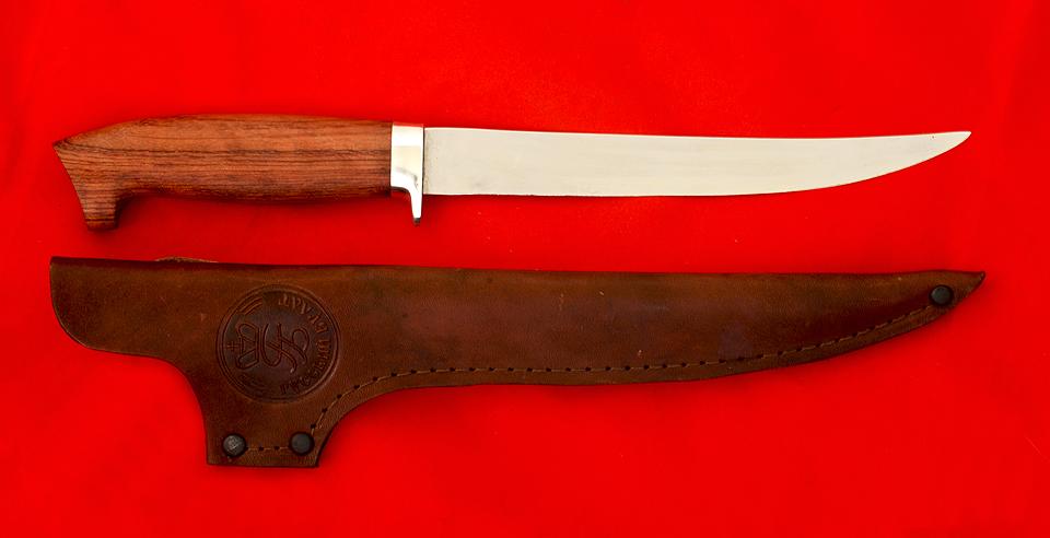 Филейный нож для рыбы своими руками чертёж 50