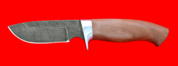 """Охотничий нож """"Барсук"""", клинок дамасская сталь, рукоять маккоре"""