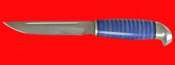 Финка 001, клинок кованый сталь 95Х18, рукоять наборный пластик