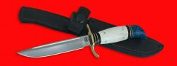 """Реплика """"Финка НКВД"""", клинок порошковая сталь ELMAX, рукоять лосиный рог"""