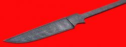 """Клинок для ножа """"Иртыш"""", клинок дамасская сталь"""