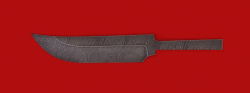 """Клинок для ножа """"Куница"""", дамасская сталь"""