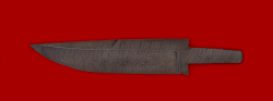 """Клинок для ножа """"Марал"""", дамасская сталь"""