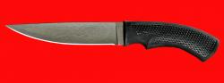 """Нож """"Лис"""", клинок сталь Х12МФ, рукоять пластмасса (цвет черный)"""