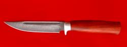 """Нож """"Норвежский"""", клинок дамасская сталь, рукоять падук"""