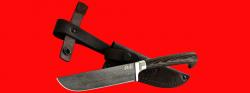 """Нож """"Узбекский"""", клинок тигельный булат, рукоять венге"""