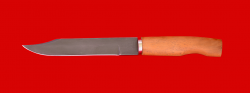 """Нож """"Сапер"""" финка, клинок кованый сталь Х12МФ, рукоять кусия"""