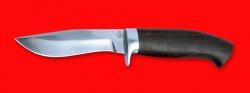 """Охотничий нож """"Вальдшнеп-2"""", клинок порошковая сталь ELMAX, рукоять венге"""