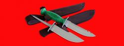 """Нож со сменными клинками на базе НР-43 """"Вишня"""", комплектация """"Рыбак-Охотник №2"""", рукоять пластмасса"""