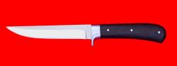 """Нож """"Засапожный №1"""", цельнометаллический, клинок сталь 65Х13, рукоять венге"""